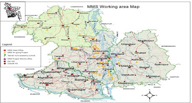 mms working area map 2014