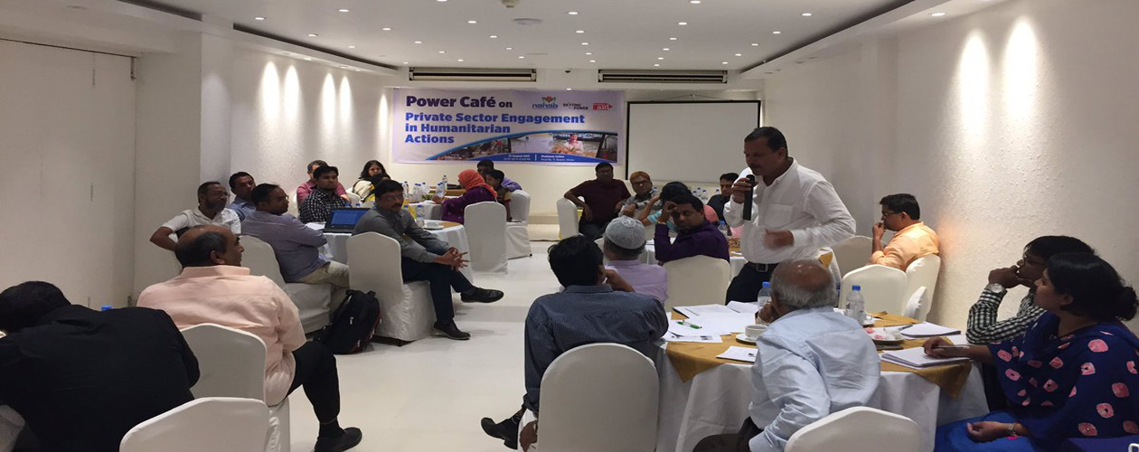 Power Cafe on Private Sector Engagement in Humanitarian Actions