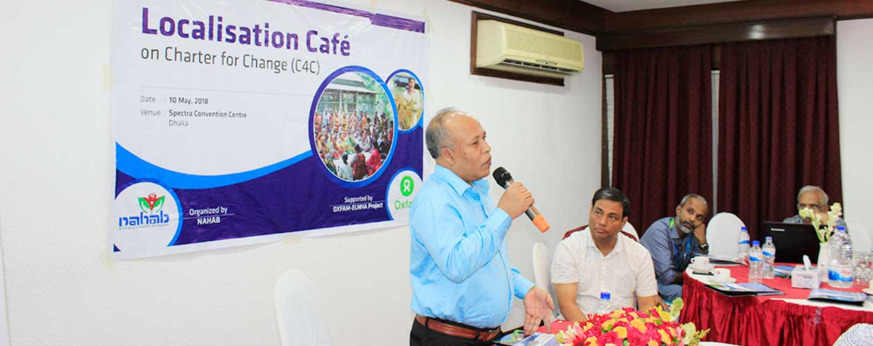 Localisation Cafe on Charter for Change