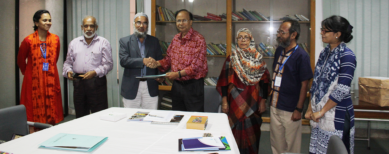 MoU signing with Press institute Bangladesh (PIB)